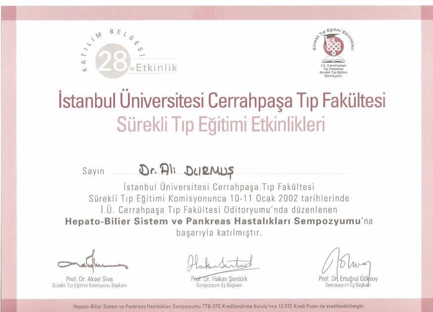 istanbul üniversitesi cerrahpaşa tıp